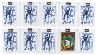 Lot of (10) 2020 Topps Project 2020 Baseball Cards with (9) #93 Derek Jeter by Gregory Siff, & (1) #94 Tony Gwynn by Efdot at PristineAuction.com