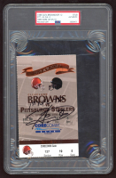 "Hines Ward Signed 1999 Ticket Inscribed ""1st NFL TD"" (PSA Encapsulated) at PristineAuction.com"
