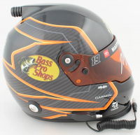 Martin Truex Jr. Signed NASCAR Bass Pro Shops Full-Size Helmet (PA COA) at PristineAuction.com
