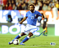 Andrea Pirlo Signed Team Italy 8x10 Photo (Beckett COA) at PristineAuction.com