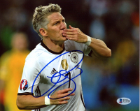 Bastian Schweinsteiger Signed Team Germany 8x10 Photo (Beckett COA) at PristineAuction.com
