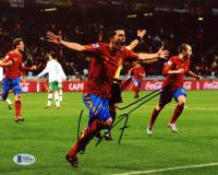 David Villa Signed Team Spain 8x10 Photo (Beckett COA) at PristineAuction.com