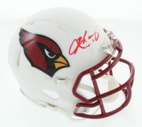 Kyler Murray Signed Cardinals Matte White Speed Mini Helmet (Beckett COA) at PristineAuction.com