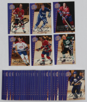 Complete Set of (39) 2001-02 BAP Signature Series Vintage Autographs Hockey Cards with VA08 Bobby Hull, #VA04 Gordie Howe, #VA06 Jean Beliveau, #VA05 Jean Beliveau, #VA40 Guy Lafleur, & #VA03 Gordie Howe at PristineAuction.com