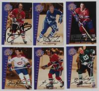 Complete Set of (39) 2001-02 BAP Signature Series Vintage Autographs Hockey Cards with VA08 Bobby Hull, #VA04 Gordie Howe, #VA06 Jean Beliveau, #VA05 Jean Beliveau, #VA40 Guy Lafleur, & #VA03 Gordie Howe at PristineAuction.com