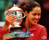 Ana Ivanovic Signed 8x10 Photo (Beckett COA) at PristineAuction.com