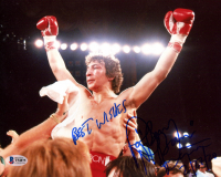 """Ray """"Boom Boom"""" Mancini Signed 8x10 Photo Inscribed """"Best Wishes"""" (Beckett COA) at PristineAuction.com"""