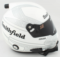 Aric Almirola Signed NASCAR Smithfield Full-Size Helmet (PA COA) at PristineAuction.com