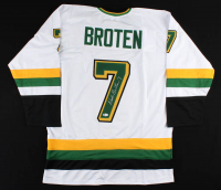 Neal Broten Signed Jersey (Becket COA) at PristineAuction.com