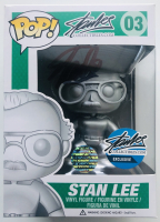 Stan Lee Signed Stan Lee Collectibles #03 Funko Pop! Vinyl Figure (Lee COA) at PristineAuction.com