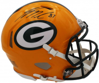 Jordy Nelson Signed Packers Full-Size Authentic On-Field Speed Helmet (Radtke COA) at PristineAuction.com