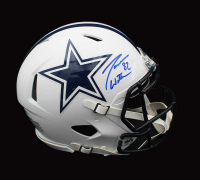 Jason Witten Signed Cowboys Full-Size Matte White Authentic On-Field Speed Helmet (Beckett COA) at PristineAuction.com