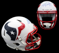J. J. Watt Signed Texans Full-Size Matte White Authentic On-Field Speed Helmet (JSA COA) at PristineAuction.com