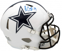Amari Cooper Signed Cowboys Full-Size Matte White Authentic On-Field Speed Helmet (JSA COA) at PristineAuction.com
