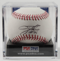 Jim Thome Signed OML Baseball with Display Case (PSA COA - Graded 9.5) at PristineAuction.com
