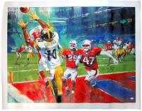 Ben Roethlisberger Signed Steelers LE Super Bowl XLIII 30x40 Giclee (JSA Hologram) at PristineAuction.com