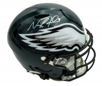 Nick Foles Signed Eagles Full-Size Authentic On-Field Speed Flex Helmet (Fanatics Hologram) at PristineAuction.com