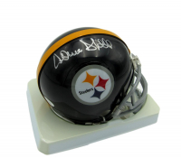 Donnie Shell Signed Steelers Mini Helmet (JSA COA) at PristineAuction.com