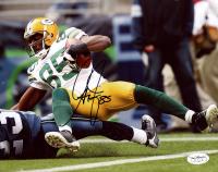 Greg Jennings Signed Packers 8x10 Photo (JSA SOA) at PristineAuction.com