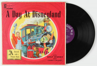 "Vintage 1957 ""A Day at Disneyland"" Vinyl LP Record at PristineAuction.com"