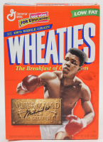 Muhammad Ali Signed Wheaties Cereal Box (JSA LOA) at PristineAuction.com