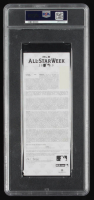 """Mariano Rivera Signed 2013 Ticket Inscribed """"Final All-Star Game"""" & """"2013 ASG MVP"""" (PSA Encapsulated) at PristineAuction.com"""