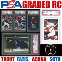 Mystery Ink PSA Graded Baseball Slabbed Rookie RC / Pre-Rookie Mystery Box - 1 in Every Pack! at PristineAuction.com