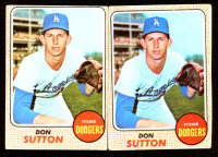 Lot of (2) Don Sutton 1968 Topps #103 at PristineAuction.com