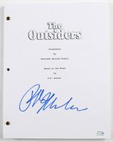 """Ralph Macchio Signed """"The Outsiders"""" Movie Script (AutographCOA COA) at PristineAuction.com"""