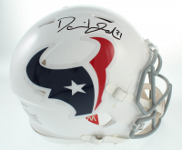 David Johnson Signed Texans Full-Size Authentic On-Field Speed Helmet (Beckett Hologram) at PristineAuction.com