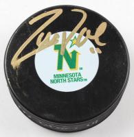 Zach Parise Signed North Stars Hockey Puck (Beckett COA & TSE Hologram) at PristineAuction.com