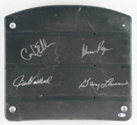 """""""Purple People Eaters"""" Vikings Stadium Seatback Signed by (4) With Carl Eller, Alan Page, Jim Marshall & Gary Larsen (Beckett COA) at PristineAuction.com"""