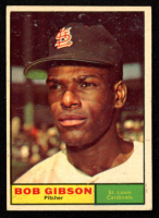 Bob Gibson 1961 Topps #211 at PristineAuction.com