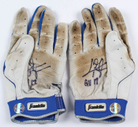 "Chris Taylor Signed Pair of Game-Used Batting Gloves Inscribed ""GU 17"" (LOJO Hologram) at PristineAuction.com"