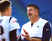 Mike Vrabel Signed Patriots 8x10 Photo (Beckett COA) at PristineAuction.com