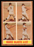 Roger Maris 1962 Topps #313 In-Action at PristineAuction.com
