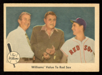 Ted Williams 1959 Fleer #75 Williams' Value to Sox at PristineAuction.com