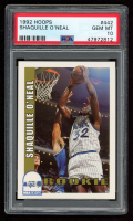 Shaquille O'Neal 1992-93 Hoops #442 RC (PSA 10) at PristineAuction.com