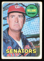 Ted Williams 1969 Topps #650 MG at PristineAuction.com