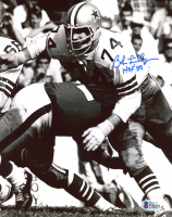 "Bob Lilly Signed Cowboys 8x10 Photo Inscribed ""HOF 80"" (Beckett COA) at PristineAuction.com"