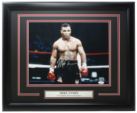 Mike Tyson Signed 16x20 Custom Framed Photo (JSA COA & Fiterman Hologram) at PristineAuction.com