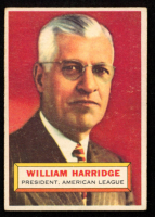 Will Harridge 1956 Topps #1 PRES at PristineAuction.com