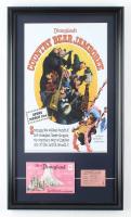 "Disneyland ""Country Bear Jamboree"" 15x26 Poster Display With Vintage Photo Portfolio & ""E"" Ticket at PristineAuction.com"