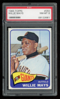 Willie Mays 1965 Topps #250 (PSA 8) at PristineAuction.com