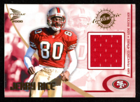 Jerry Rice 2000 Pacific Prism Prospects Game Worn Jerseys #8 at PristineAuction.com