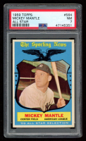 Mickey Mantle 1959 Topps #564 All-Star (PSA 7) at PristineAuction.com