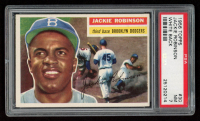 Jackie Robinson 1956 Topps #30 - White Back (PSA 7) at PristineAuction.com