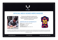 """Lionel Messi Signed Barcelona Nike Jersey Inscribed """"Leo"""" (ICONS COA) at PristineAuction.com"""