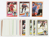 1984-85 Topps Complete Set of (165) Hockey Cards with Wayne Gretzky #51, Wayne Gretzky #154 All-Star, Steve Yzerman #49 RC at PristineAuction.com