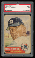Mickey Mantle 1953 Topps #82 (PSA 1) at PristineAuction.com